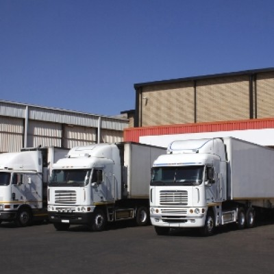 Three refrigerated transporters